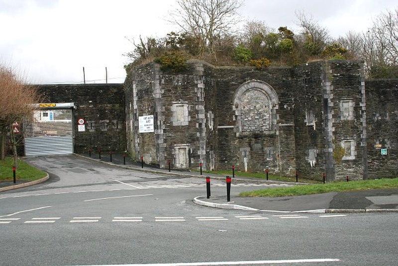 Benteng Austin, Plymouth, Inggris Raya.