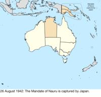 Map Of Australia Japan.Territorial Evolution Of Australia Wikipedia