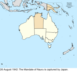 Map of Australia; for details, refer to adjacent text