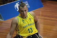 Australia men wheelchair basketball v Great Britain 5699.JPG