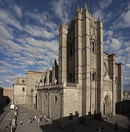Avila Espagne cathédrale