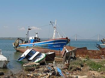 Ayamonte boats