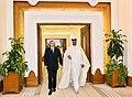 Azerbaijani President, Emir of Qatar had one-on-one meeting, 2017 01.jpg