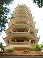 Bảo tháp,Tịnh xá trung tâm, hcmvn.2011 - panoramio.jpg