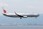 B-5583, Boeing 737-89L, CA857, from Shanghai (18425791526).jpg