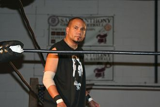 B-Boy - B-Boy at a JAPW show in November 2008.