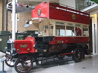 London General Omnibus Company - Image: B43Ole Billat IWM London