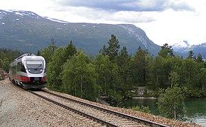 Rauma Line - Image: BCM 93 57 near Bjorli 2004 SRS