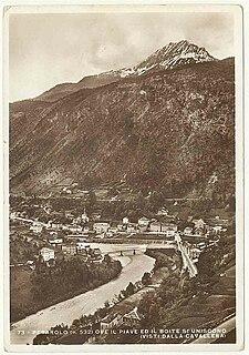 Boite (river) the river Boite in northern Italy