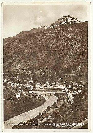Boite (river) - The river in 1941