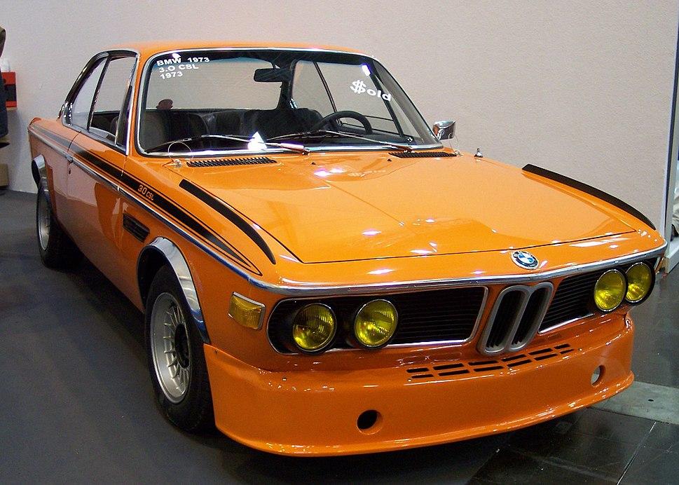 BMW 30 CSL 1973 orange vr TCE