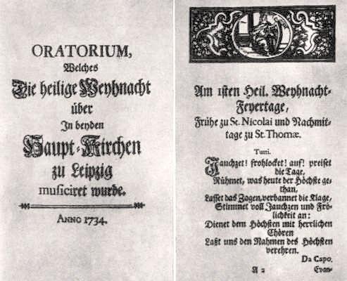 BWV 248 Libretto