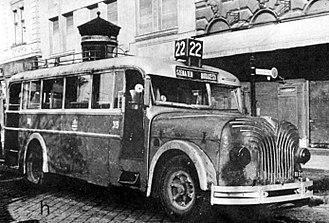 Ikarus (Hungarian company) - A damaged MÁVAG N2h/39 during World War II