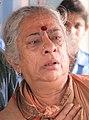 B Jayashree during a shoot of Ishtakamya.jpg