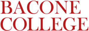 Bacone College - Image: Bacone College logo