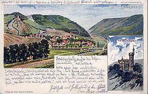 Bad Liebenzell - Liebenzell in 1899