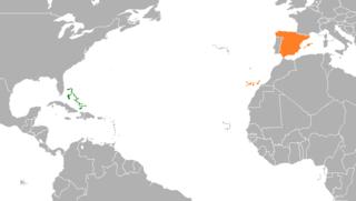Bahamas–Spain relations