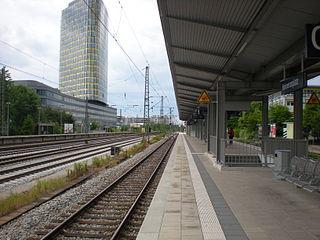 Munich Heimeranplatz station Station of the Munich U-Bahn