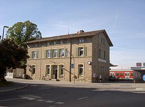 Renningen station #