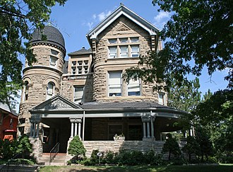 National Register of Historic Places listings in downtown Denver - Image: Bailey House