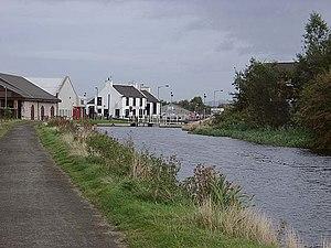 Bainsford - Image: Bainsford Bridge lock geograph.org.uk 62156