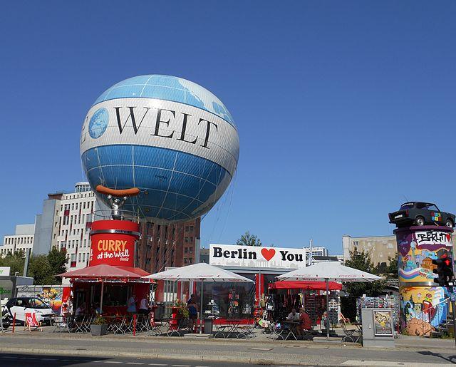 Воздушный шар в Берлине