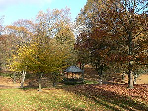 "Offa, Wrexham - Bellevue Park, or the ""Parciau"", is located within the community of Offa"