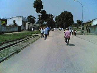 Bandundu (city) - Image: Bandundu Centre
