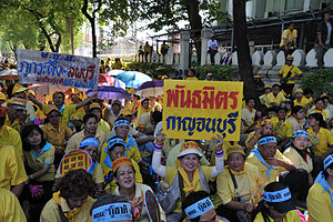 People's Alliance for Democracy - PAD supporters