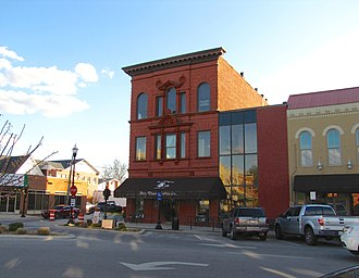 National Register of Historic Places listings in Franklin County, Tennessee - Image: Bank of Winchester building tn 1