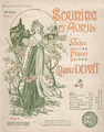 Barabandy Sourire d'Avril valse pour piano by Maurice Depret 1898.png