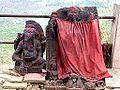 Barabar Caves - Broken Temple Statues (9227541324).jpg