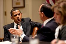 Barack Obama meets with business leaders 5-12-09.jpg