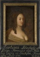 Barbara, 1478-1535, prinsessa av Polen hertiginna av Sachsen