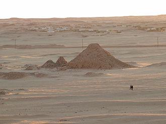 Jebel Barkal - Image: Barkal pyramids south