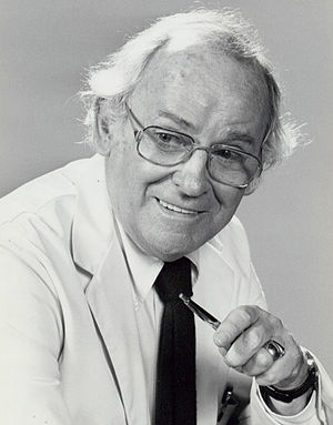Barnard Hughes - Hughes as Dr. Joe Bogert on Doc, 1975.