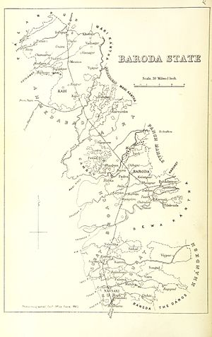 Baroda State - Baroda State, 1896