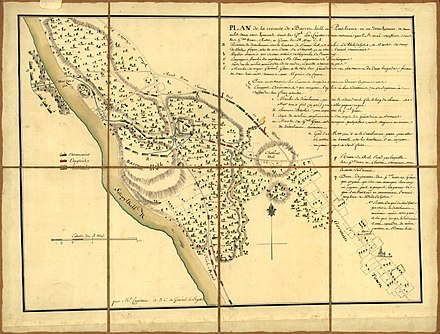 Map of the Battle of Barren Hill by Michel Capitaine du Chesnoy, aide-de-camp to Lafayette Barren-hill-map.jpg
