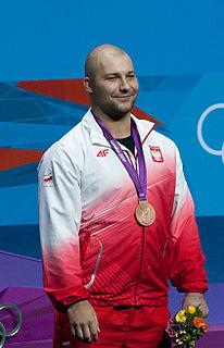 Bartłomiej Bonk Polish weightlifter