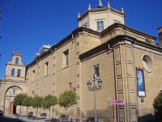 Haro, La Rioja - Image: Basílica de Nuestra Señora de la Vega de Haro La Rioja
