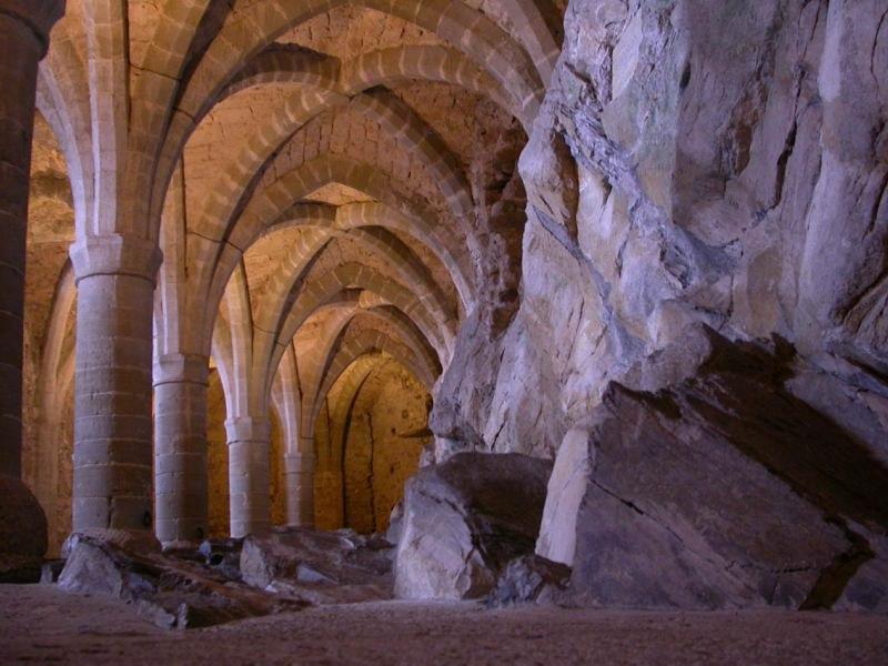 Basement-of-chillon-castle