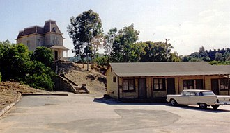 Psycho (novel) - Bates Motel Set at Universal Studios, Hollywood, California
