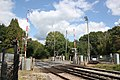 Battle Level Crossing - looking up the line.JPG