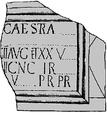 Bauinschrift Leg II und XX Bewcastle.png
