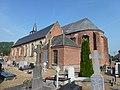 Bavinchove (Nord, Fr) église, chevet.JPG