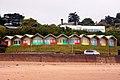 Beach huts above the beach - geograph.org.uk - 2627275.jpg