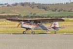 Beagle A61 Terrier II (VH-WFM) at Wagga Wagga Airport.jpg