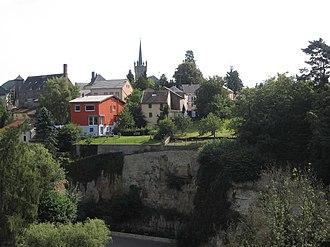 Beaufort, Luxembourg - Image: Beaufort plaats