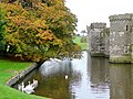 Beaumaris Castle moat - geograph.org.uk - 1534570.jpg