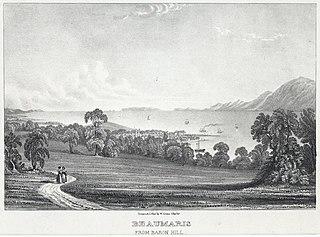 Beaumaris from Baron Hill
